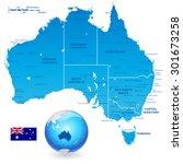 high detail vector map of...   Shutterstock .eps vector #301673258