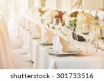 party table setting | Shutterstock . vector #301733516
