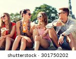 friendship  leisure  summer and ... | Shutterstock . vector #301750202