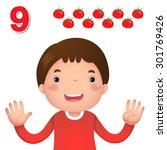 kids learning material. learn... | Shutterstock .eps vector #301769426