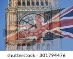 big ben  clock tower ... | Shutterstock . vector #301794476