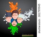 vector illustration of indian...   Shutterstock .eps vector #301799945