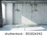 3d rendered empty apartment in... | Shutterstock . vector #301826342