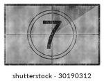 movie countdown | Shutterstock . vector #30190312