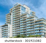 condominium or apartment... | Shutterstock . vector #301921082