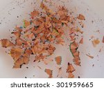 shavings from pencils | Shutterstock . vector #301959665