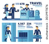 travel infographic elements | Shutterstock .eps vector #301997876
