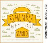 vector modern design hipster... | Shutterstock .eps vector #302017412