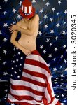 American Grrl! - stock photo