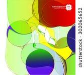 textures art vector eps jpg... | Shutterstock .eps vector #302065652