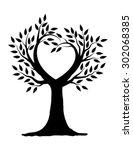Love Tree Illustration Design...