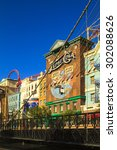 Small photo of Las Vegas Nevada USA - JUN 9 2015: New York-New York Casino and Hotel architecture fa�§ade features many of the New York City icons in Las Vegas, About 40 million people visiting the city each year.