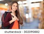 college student  student ... | Shutterstock . vector #302090882