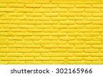 Old Yellow Brick Wall. Seamles...