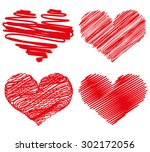 heart | Shutterstock . vector #302172056