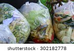 composting the kitchen waste | Shutterstock . vector #302182778