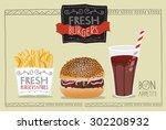 Hamburger Poster  Menu Or...