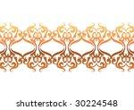 decorative wallpaper design in... | Shutterstock .eps vector #30224548