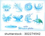 Water Splash Patterns