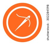 needle and thread icon | Shutterstock .eps vector #302284598