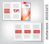 business brochure | Shutterstock .eps vector #302321672
