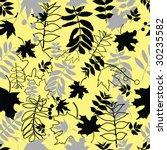 seamless leaf background.... | Shutterstock .eps vector #30235582
