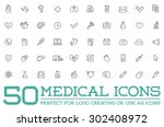 medicine medical health vector... | Shutterstock .eps vector #302408972