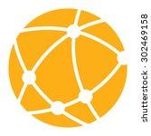 yellow worldwide  business... | Shutterstock . vector #302469158