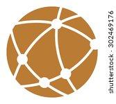 brown worldwide  business... | Shutterstock . vector #302469176