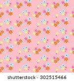 Seamless Pattern Of Small Mult...