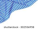 White Blue Diamond Pattern On ...