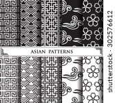 asian vector pattern pattern...