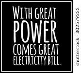 funny  inspirational quotation. ... | Shutterstock .eps vector #302579222