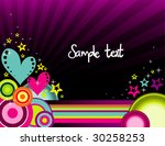 abstract vector illustration | Shutterstock .eps vector #30258253