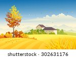 vector illustration of a... | Shutterstock .eps vector #302631176