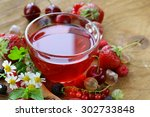 Berry Tea With Fresh Currants ...