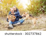 happy family spent free time in ... | Shutterstock . vector #302737862
