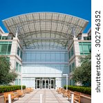 cupertino  ca   august 1  2015  ... | Shutterstock . vector #302746352