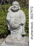 happy buddha statue | Shutterstock . vector #3027972