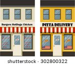 vector illustration of various... | Shutterstock .eps vector #302800322