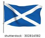 scotland | Shutterstock . vector #302816582
