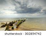 Baltic Sea At Beautiful...