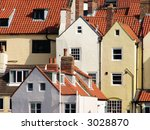 Whitby Houses With Red Tiled...