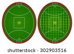 australian rules football... | Shutterstock .eps vector #302903516