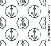 vintage dark blue ship anchors...