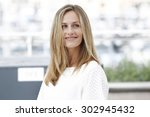 cannes  france  may 21  cecile... | Shutterstock . vector #302945432