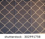 Iron Wire Fence Texture