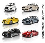 car vehicle transportation 3d...   Shutterstock . vector #302994692