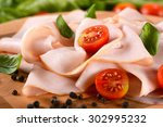 Appetizer Of Sliced Turkey...