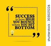 inspirational motivational... | Shutterstock .eps vector #303025226